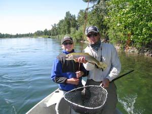 Flathead river fly fishing in montana fly fishing near for Whitefish montana fishing